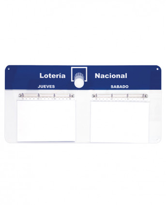 Imagen 1 del producto Portalistas PVC Horizontal