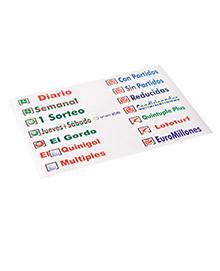 Etiquetas Adhesivas de Juegos